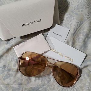 Michael Kors Rose Gold Sunglasses